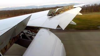 ONBOARD SWISS Boeing 777-300ER | FULL FLAPS LANDING at Geneva Airport (GVA) [Full HD]