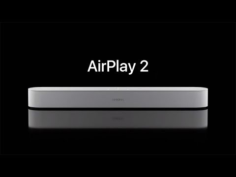 Using AirPlay with Sonos speakers