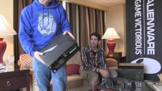 AlienWare x51 PC Unboxing feat. ProtatoMonster