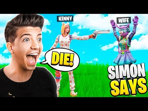 TROLLING MY WIFE *NEW* FORTNITE SIMON SAYS IN MURDER MYSTERY!