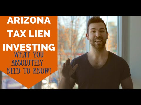 Arizona Tax Liens - What you NEED to Know! (TLTV Ep 15)