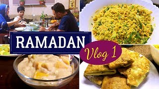 Ramadan VLOG 1 | Dates Custard | Cous Cous Salad | Meat box | How to store Dried Curry leaves