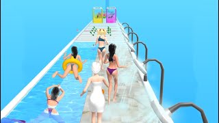 Beauty Race! 👸💃👙 BÏG UPDATE!! All Levels Gameplay Android,ios BR1GP18