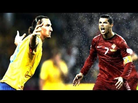 Cristiano Ronaldo vs Zlatan Ibrahimovic ► Top 10 Goal