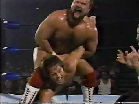 Arn & Ole Anderson vs  Rock N Roll Express (NWA World Championship Wrestling 07/19/1986)