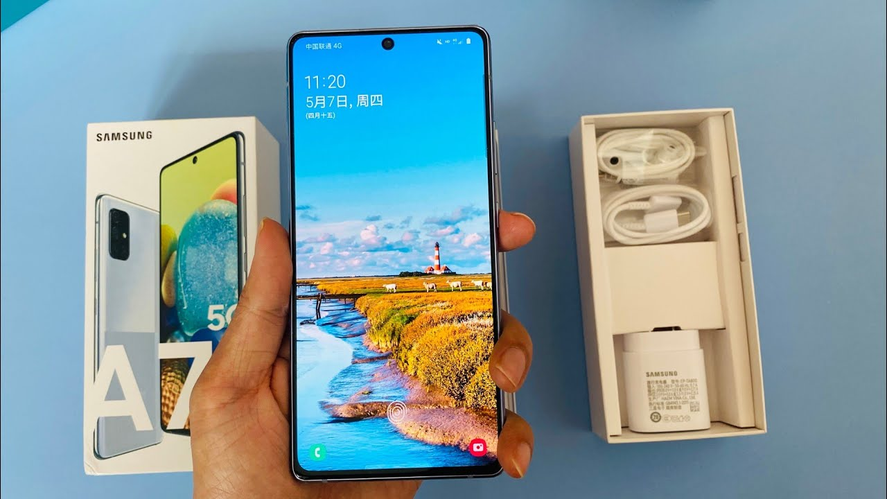 Samsung Galaxy A71 5G !! Unboxing and Overview