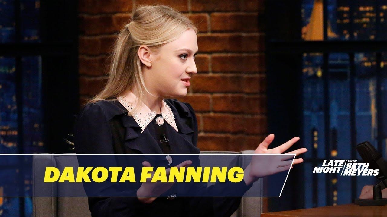Dakota Fanning Is a Pro Instagram Stalker - YouTube