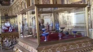 Экскурсии по музеях Парижа. Лувр(Один из многочисленных залов Лувра., 2016-10-24T09:28:19.000Z)