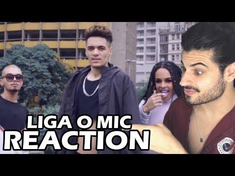 Murillo Zyess - Liga O Mic (part. Guigo & Gloria Groove) (REACTION) | Reação e comentários