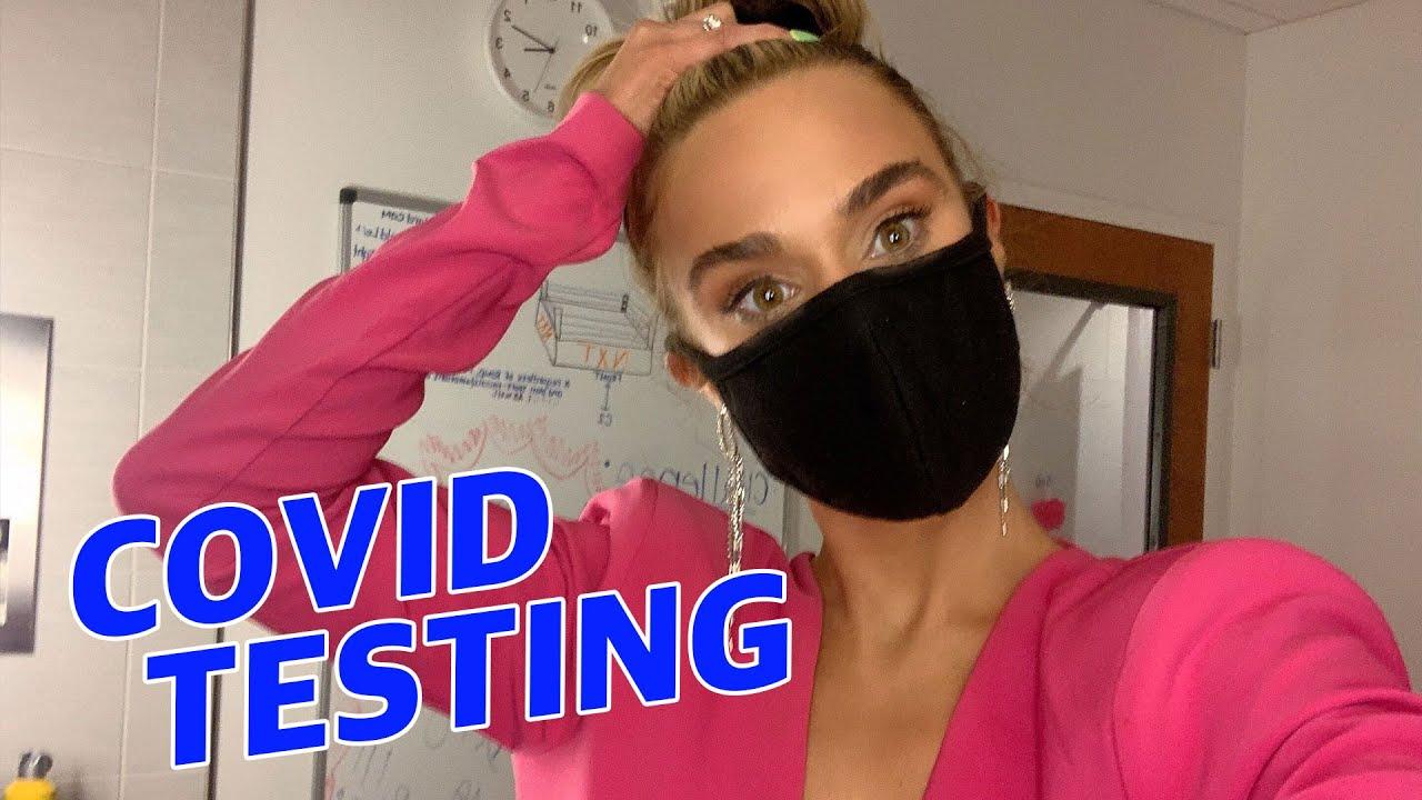 COVID Testing in WWE   Lana WWE   CJ Perry
