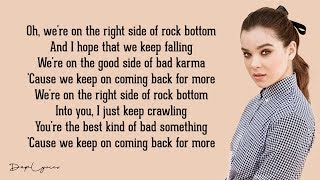 Download lagu Hailee Steinfeld - Rock Bottom (Lyrics) 🎵