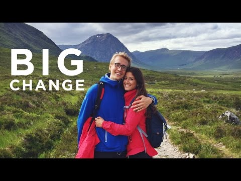 Big Change | Scotland Vlog