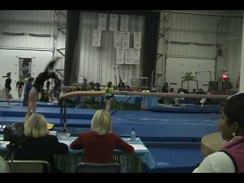 Olivia Bauer UGA Gymnastics Meet Dec 2009