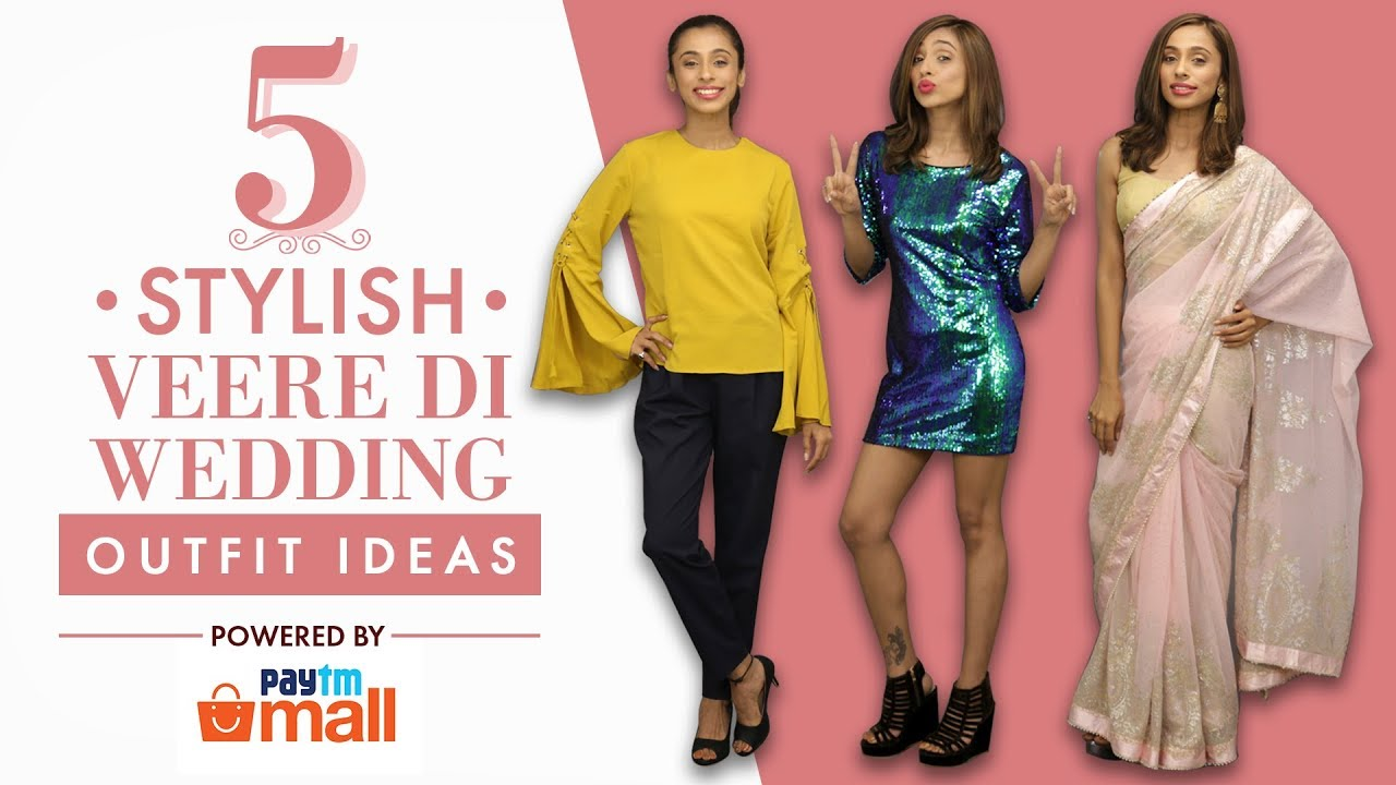 Veere Di Wedding Outfits.5 Stylish Veere Di Wedding Outfit Ideas Fashion Pinkvilla