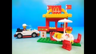 LEGO McDONALDS DRIVE THRU 88PC PLAY SET VIDEO REVIEW by FastFoodToyReviews