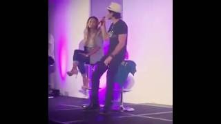Kat Graham & Ian Somerhalder Q&A - Bloody Night Con 2016