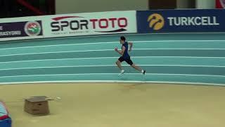 İstanbul U18 Taf Turkcell Salon Yıldızlar Türkiye Şampiyonası 400 metre erkekler 8 seri