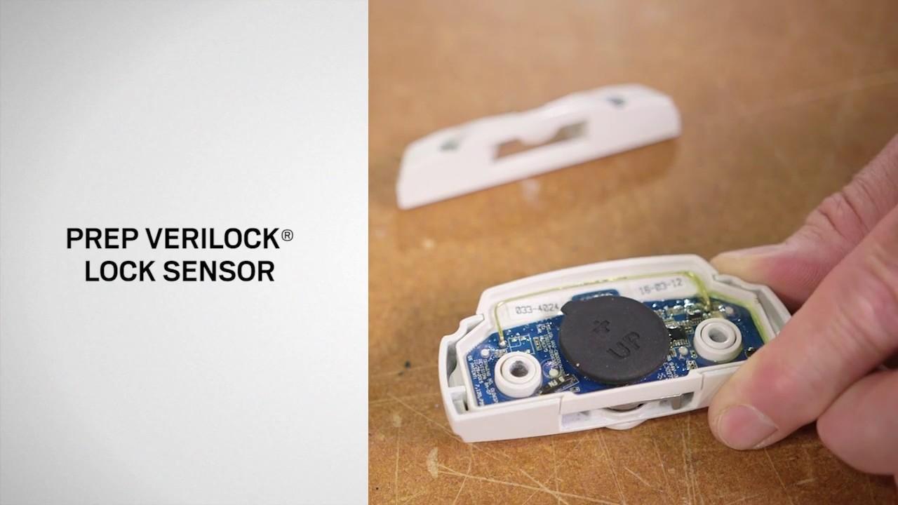verilock security sensor installation on andersen 400 series tilt wash double hung windows [ 1280 x 720 Pixel ]