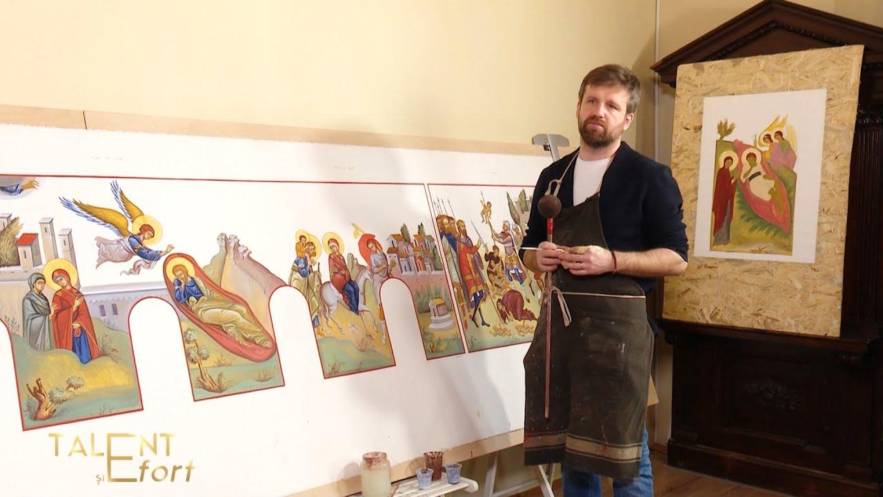 Talent și Efort. Daniel Codrescu - arta mozaicului (26 02 2021)