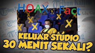 Hoax or Fact: Bioskop Kembali Dibuka, Keluar Studio 30 Menit Sekali?