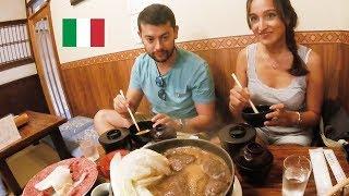 【今半】イタリア人がすき焼きの和牛肉に感動 / Japanese Sukiyaki Beef