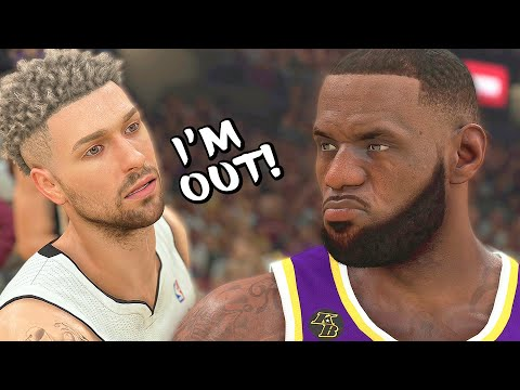 LEBRON GOING FOR 100 POINTS MADE ME DEMAND TRADE! I'M OUT! - NBA 2K21 MyCAREER #12