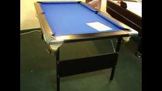 Deluxe Folding Leg Pool Table By Baize Craft Of Lisburn, N.ireland