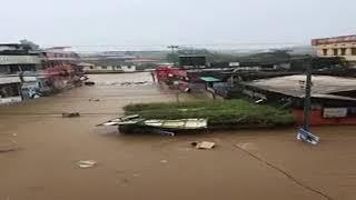 പമ്പ കരകവിഞ്ഞു; റാന്നിയും വടശേരിക്കരയും മുങ്ങി  | Pamba River | Ranni Flood|2018|kerala latestnews