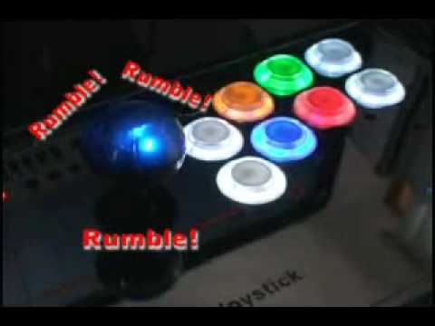 XCM Rumble Joystick PlayStation 3 Controller Video