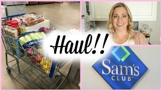 1st SAM'S CLUB HAUL / SHOP WITH ME!!