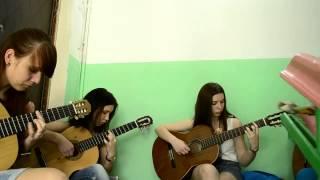 Sting - Shape Of My Heart. Уроки гитары