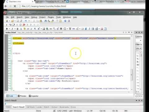 Phonegap Ionic Mobile development with Ratchet 10 WebView iFrames