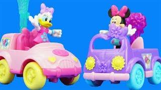米妮和唐老鴨的小汽車,米奇妙妙屋的汽車玩具