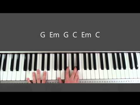 No Other Name - Hillsong Piano Tutorial and Chords