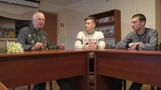 Ветеран Великой Отечественной войны В.С. Саласюк