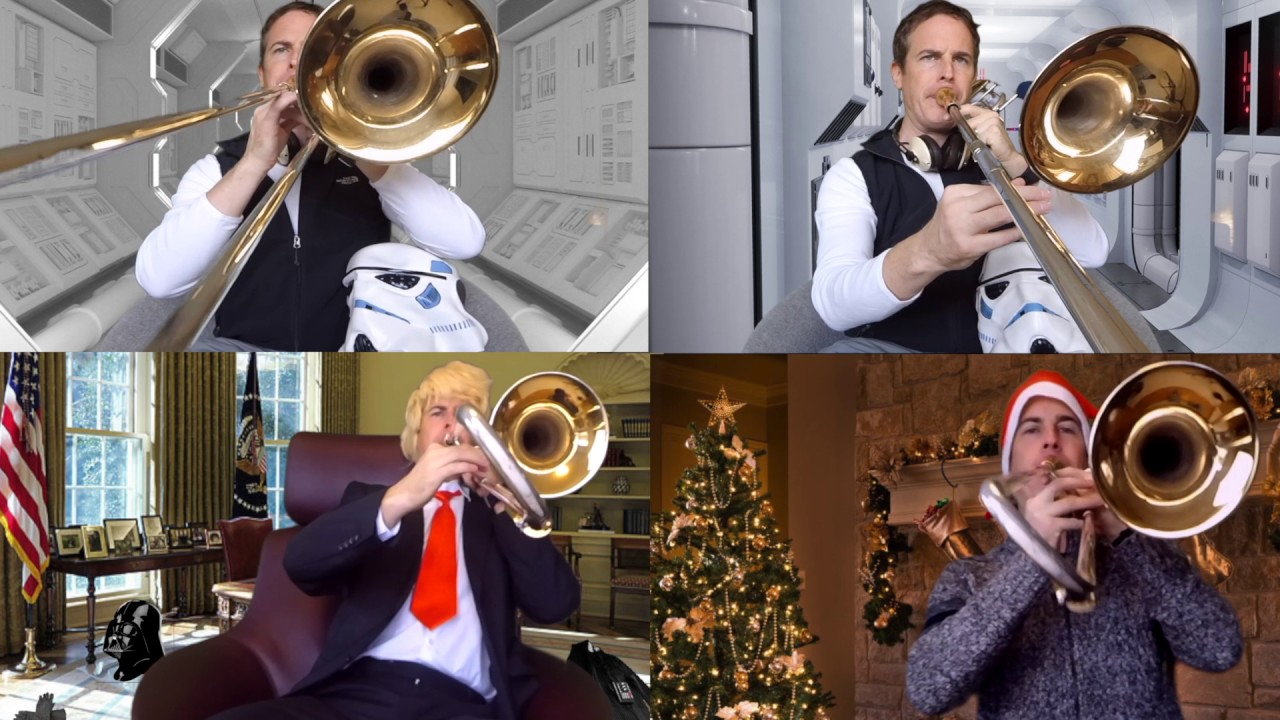 All-American Christmas Song (Jingle Bells/Imperial March) - YouTube