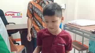 Habis Sunat Langsung Pakai Celana Metode Klamp, Ananda Vicky Aji Wijaya  Upload