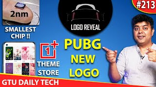 #GDT New PUBG Logo, Realme Twitter Hacked, OnePlus Theme Store, Only AMOLED Redmi
