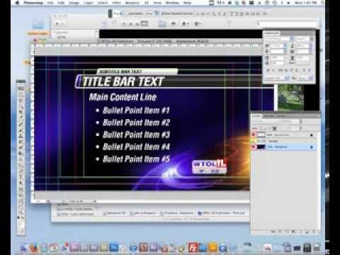 06 Photoshop Training - Building artwork for a News Package