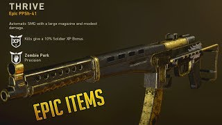 ALL COLLECTION ITEMS IN WWII - Epic ITEMS!