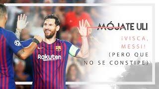 ¿Puede Messi hacer ganar al Barsa la Champions League él solo? | Mójate Uli