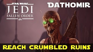 Explore Dathomir to Reach the Crumbled Ruins | Find Way back to ruins | Star Wars Jedi Fallen Order