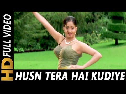 Husn Tera Hai Kudiye | Sonu Nigam, Jasbinder Kaur | Chandaal 1998 HD Songs | Mithun Chakraborty