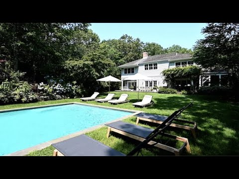Traditional Home with Pool and Tennis in Sag Harbor, The Hamptons