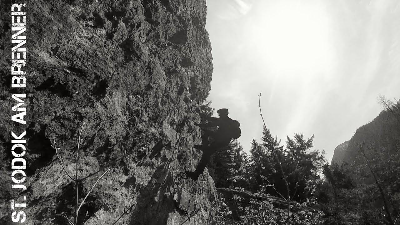 St Jodok Klettersteig : Klettersteig peter kofler st jodok am brenner stafflacher wand