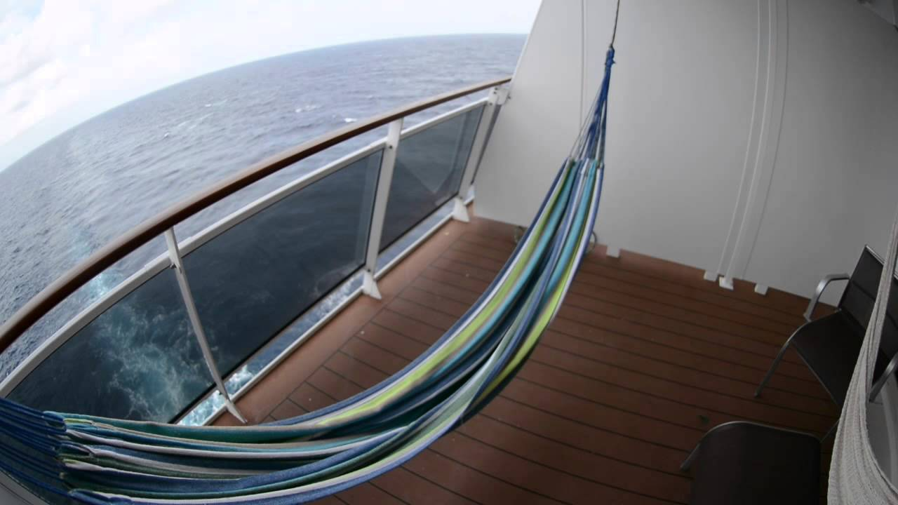 How To Hang A Hammock On Cruise Ship Balcony