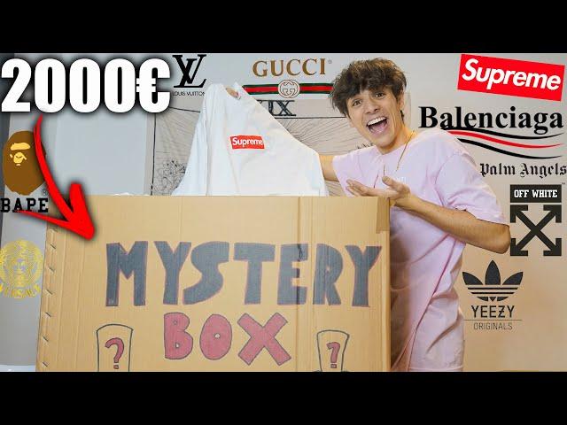 Apro Una Mistery Box Streetwear da 2000€!!!