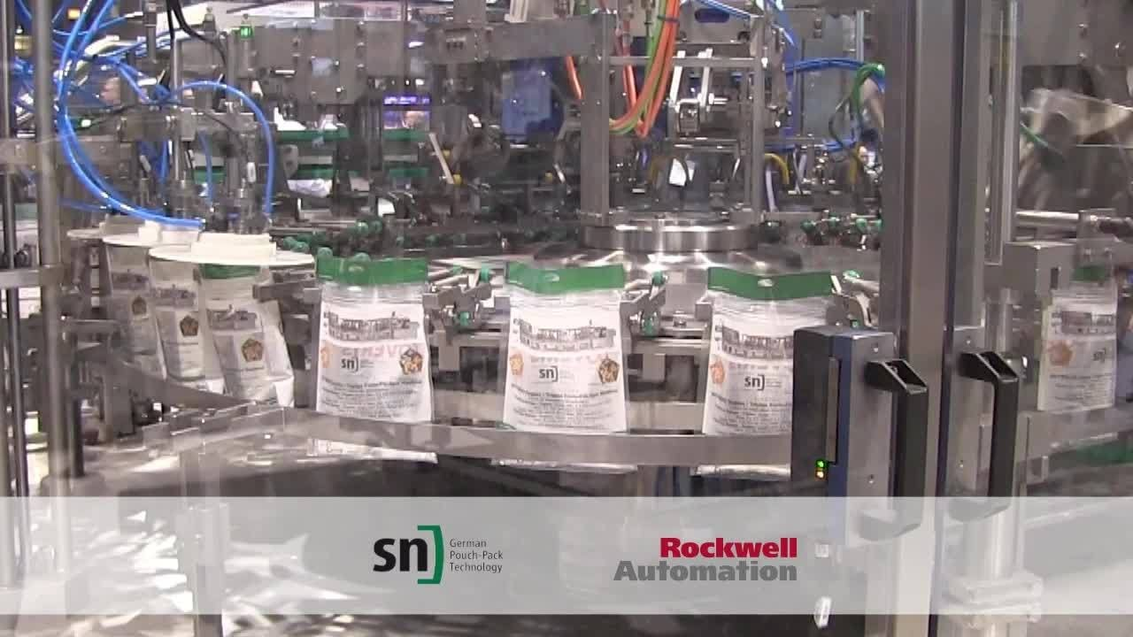 Total Auto Solutions >> Get to know FM 300 Pouch Packaging Machine by SN Maschinenbau at Pack Expo - YouTube