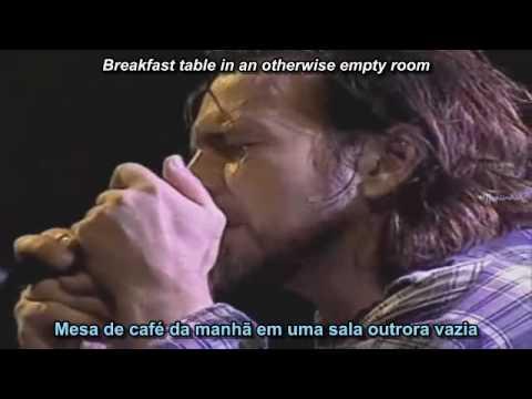 Pearl Jam - Daughter (legend PORT + INGLÊS) Chile '05