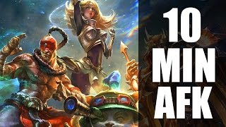 League of Legends : 10 Minute AFK Strategy thumbnail